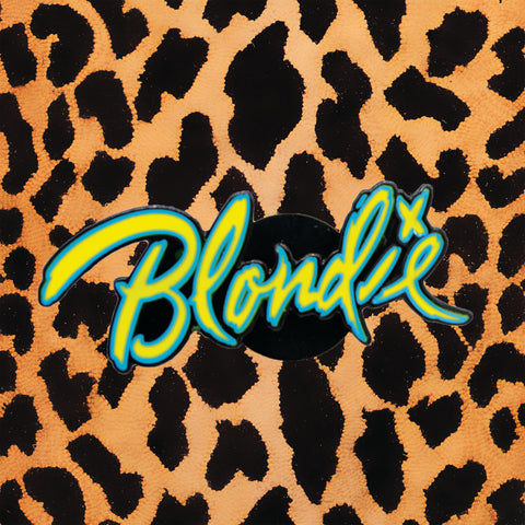 'BLONDIE' LOGO ENAMEL PIN