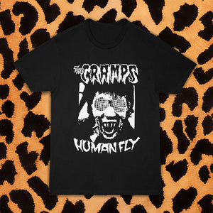"CRAMPS ""HUMAN FLY"" T-SHIRT (UNISEX)"