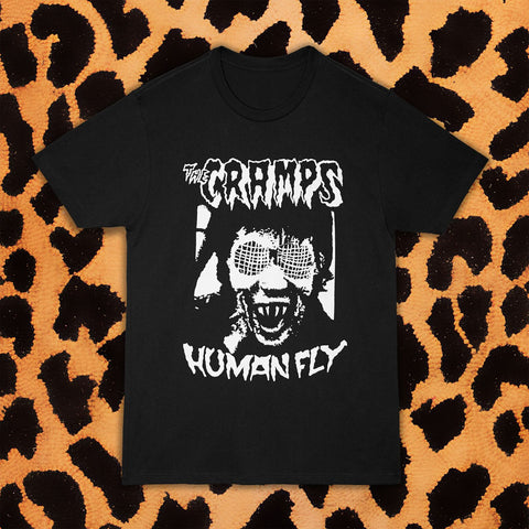 CRAMPS HUMAN FLY T-SHIRT