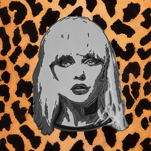 "DEBBIE HARRY ""BLONDIE"" ENAMEL PIN"