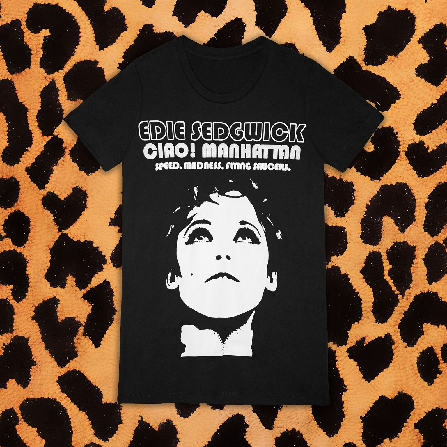 "EDIE ""CIAO! MANHATTAN"" T-SHIRT (WOMENS)"