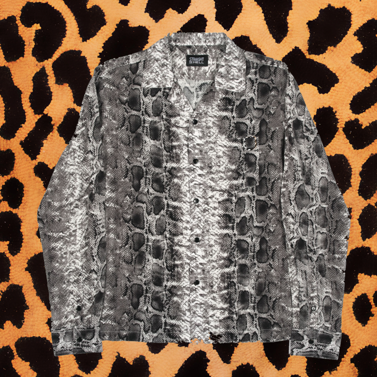 "STRAIGHT TO HELL ""BEAST OF THE FIELD"" SNAKESKIN SHIRT (MEN'S)"