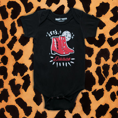 DAVID BOWIE 'LET'S DANCE' KIDS ONESIE