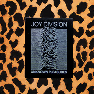"JOY DIVISON ""UNKNOWN PLEASURES"" ENAMEL PIN"