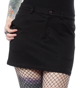 MINI SKIRT (BLACK)