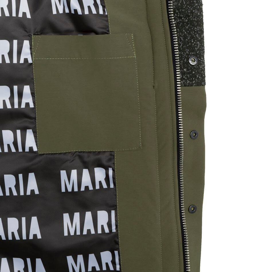 AW18 MARIA by fifty Jacket Drew Limited Edition inside pocket