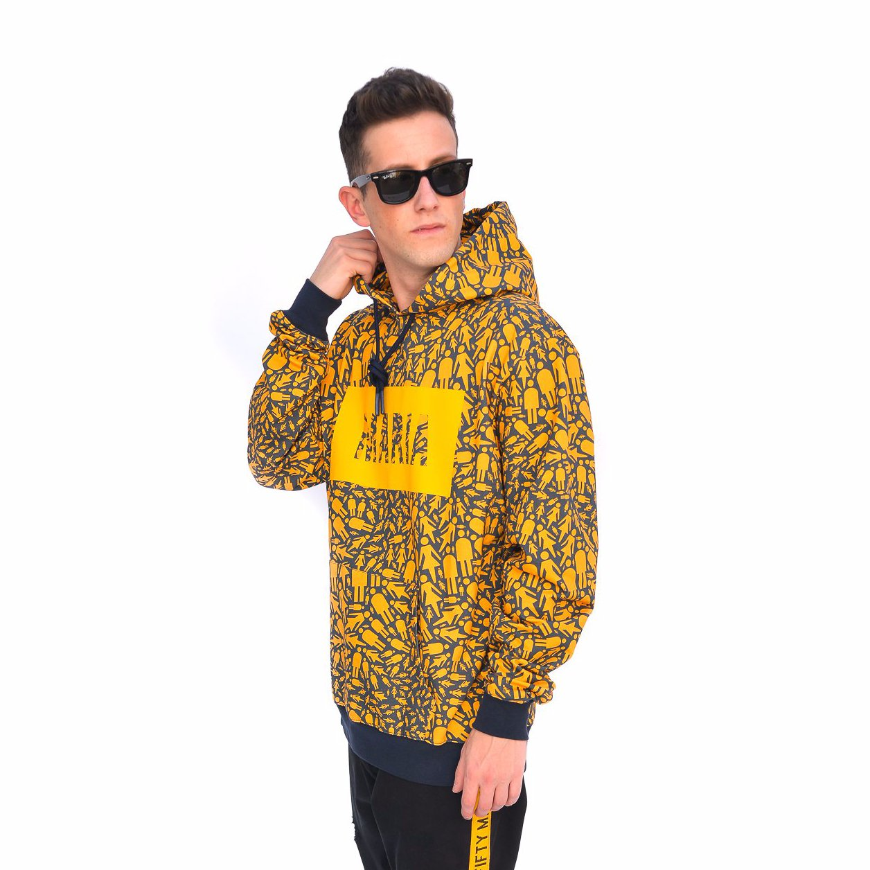 HOODIE YELLOW PARTY