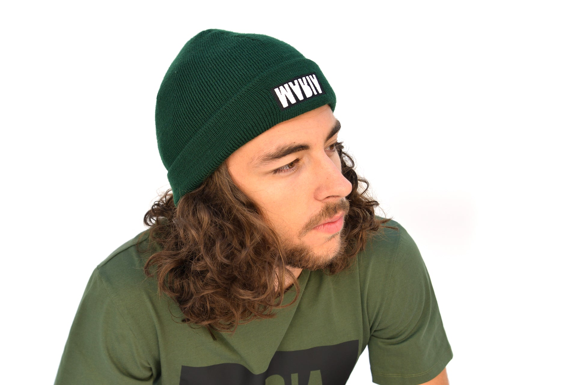 BEANIE HOT GREEN