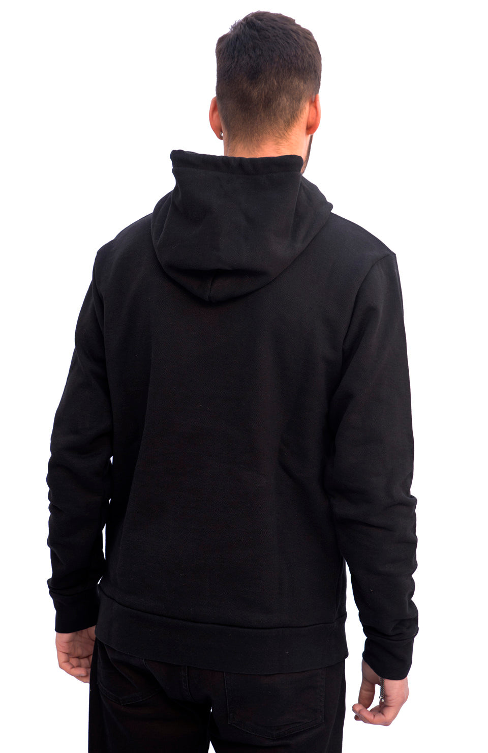 SS19 MARIA by fifty Hoodie Black W2 Black back