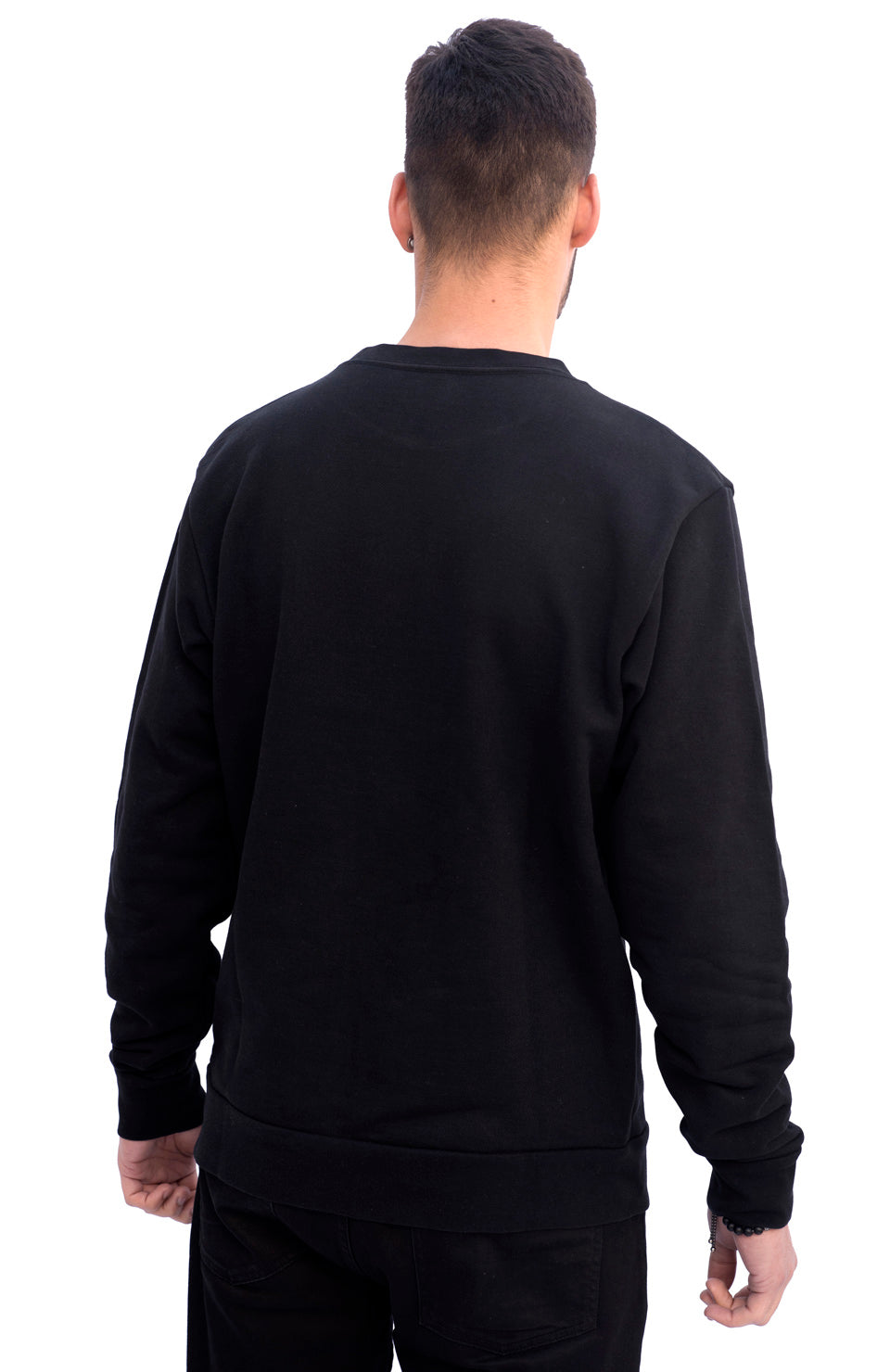 SS19 MARIA by fifty Sweatshirt Black W2 Inverse White back