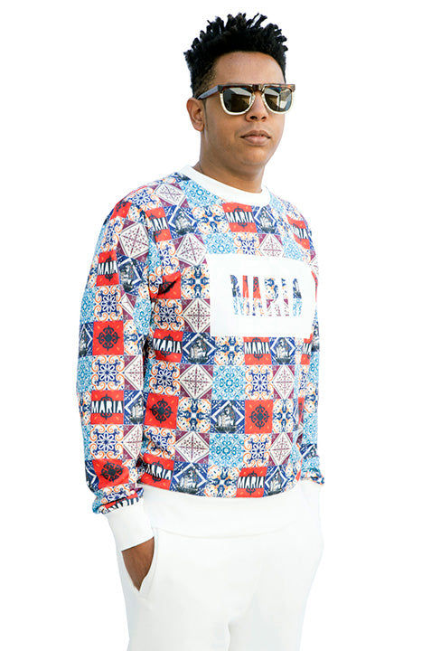 SS19 MARIA by fifty Sweatshirt Tiles front