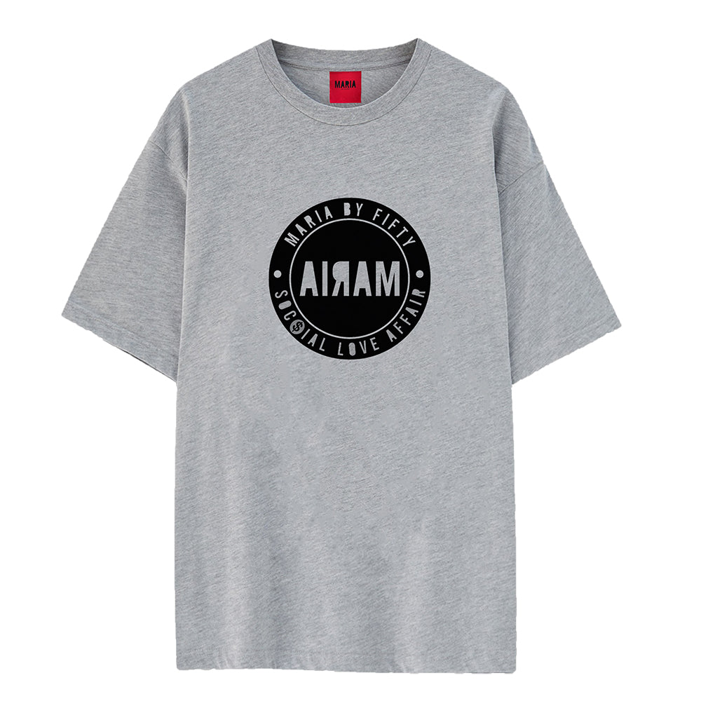 T-shirt Melange Badge