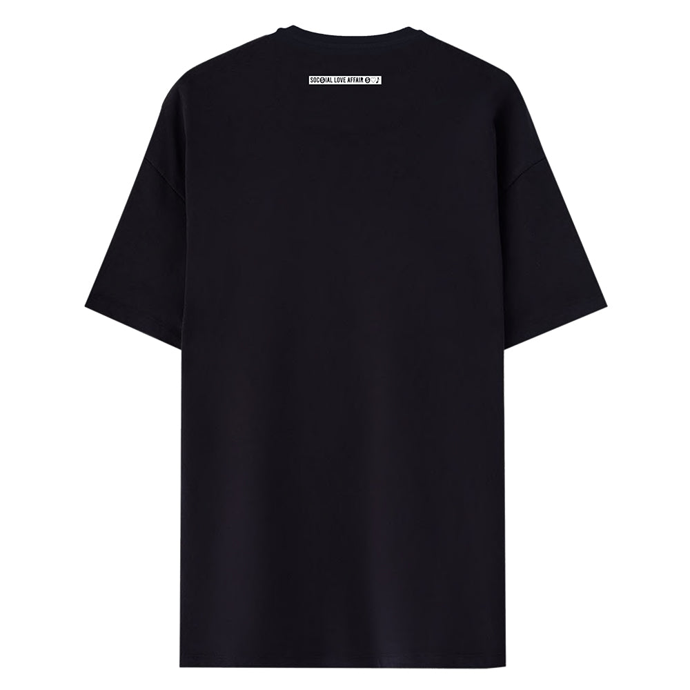 T-shirt Black Your Organic