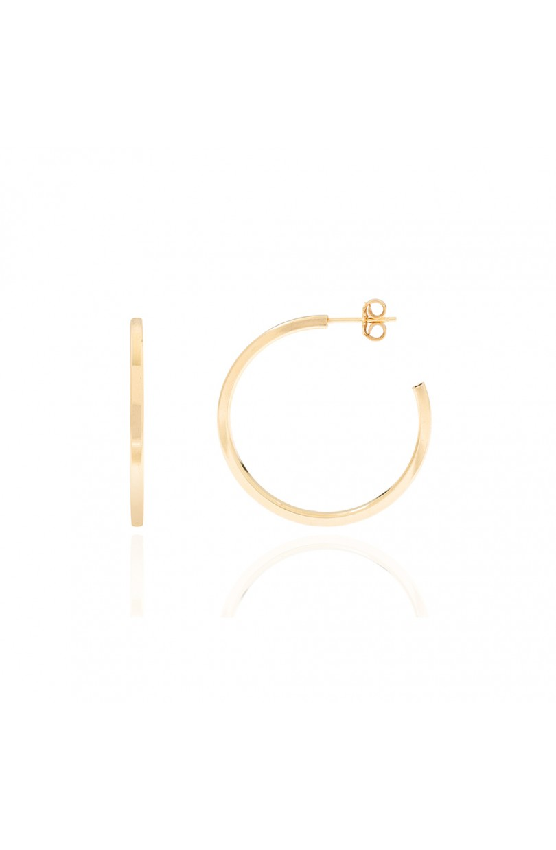 Lessia Hoops Gold