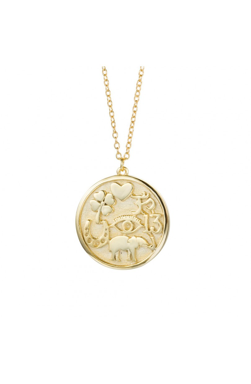Lucky Charm Necklace Gold