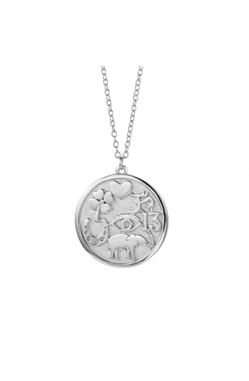 Lucky Charm Necklace Silver