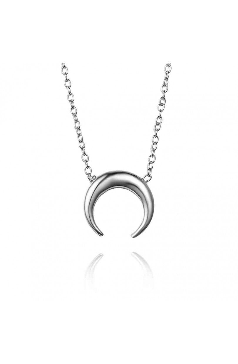 Mini Luna Necklace Silver