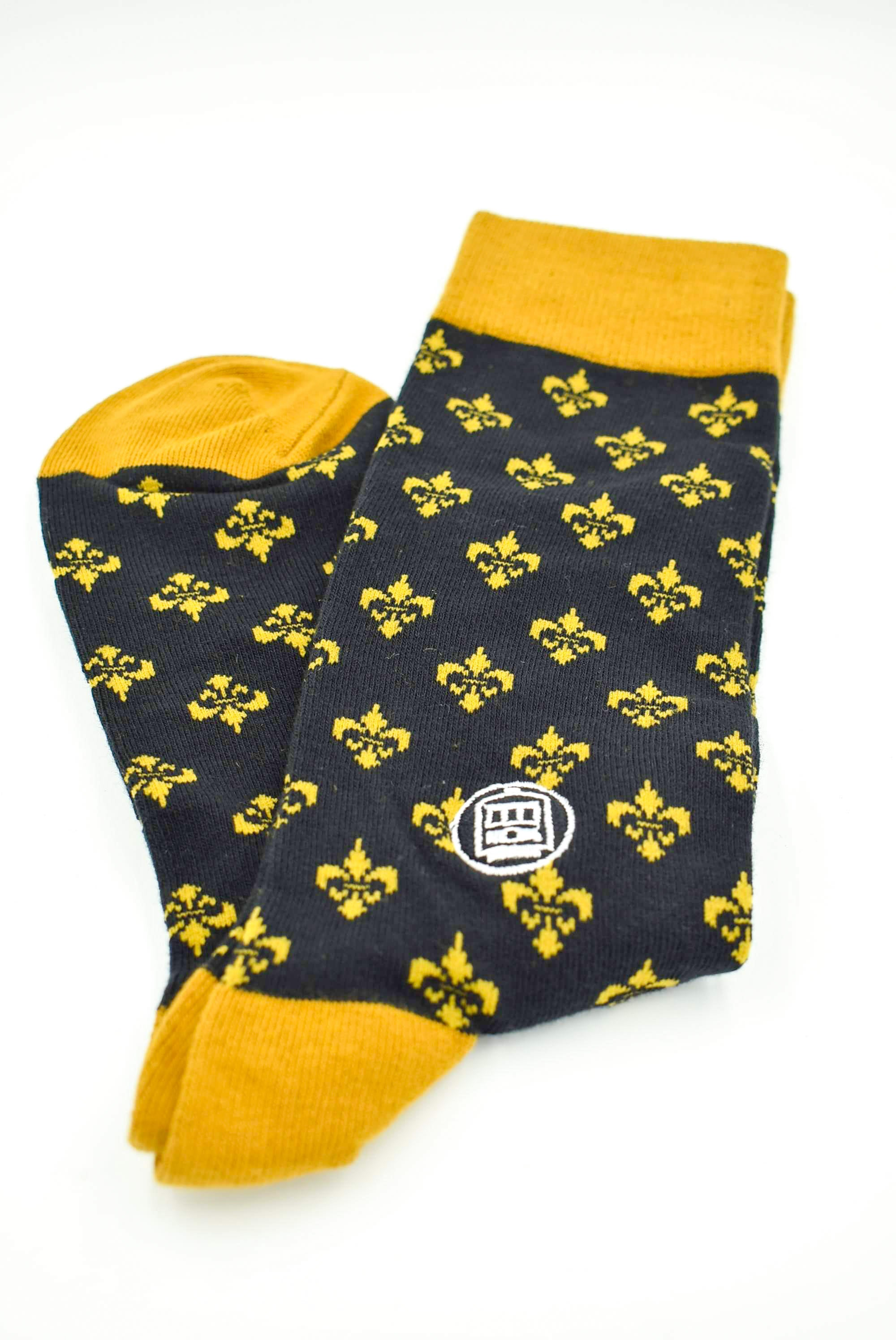 Black & Gold Socks
