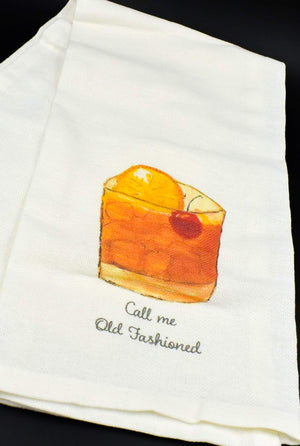 Call Me Old Fashioned Kitchen Towel