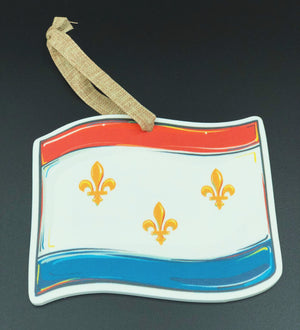 New Orleans City Flag Ornament