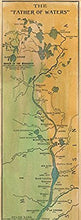 Load image into Gallery viewer, Mississippi River Map 1887