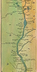 Mississippi River Map 1887