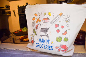Makin' Groceries Tote Bag