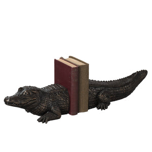 Alligator Bookend