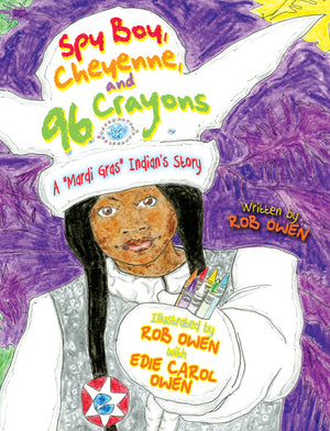 Spy Boy Cheyenne and Ninety-Six Crayons