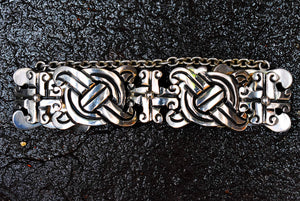 Spratling Silver Cross Bracelet