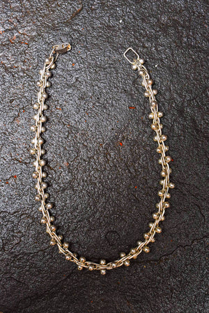 Spratling Silver Triple Link Necklace