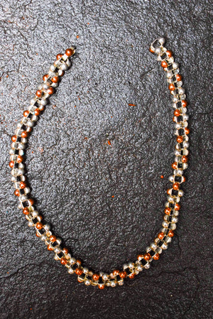 Spratling Silver and Copper Necklace