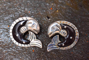 Spratling Silver & Ebony Fish