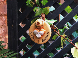 Coffee & Beignet Ornament