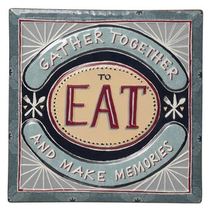 Gather Together To Eat - Wall Art