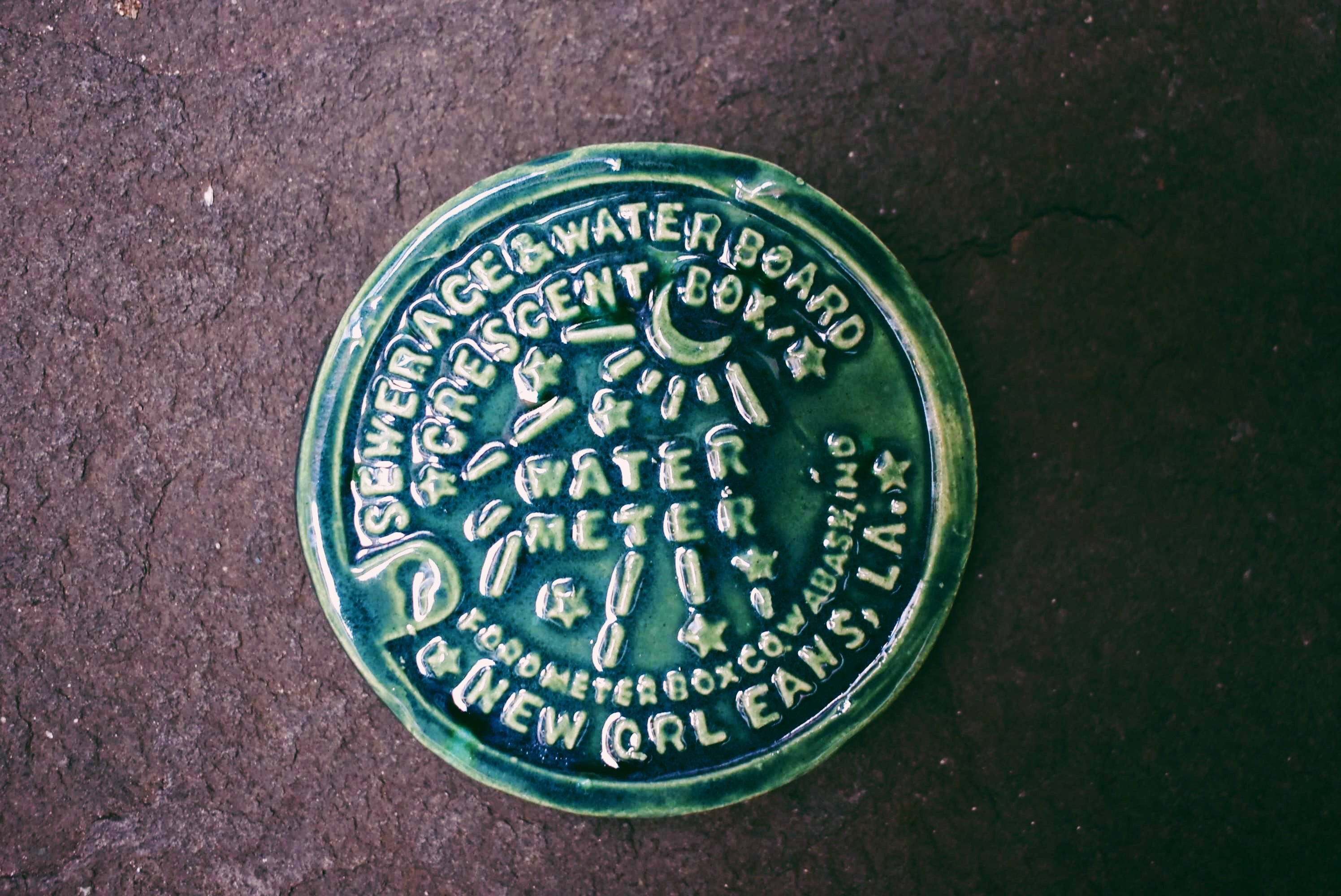 New Orleans Water Meter Magnet