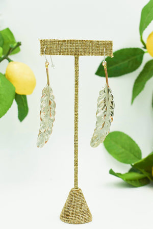 Juneau Feather Earring