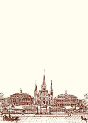 Jackson Square Notecards
