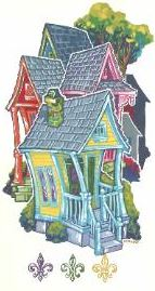 Shotgun House - Notecards