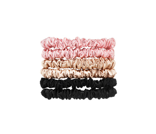 100% Mulberry Silk Scrunchies