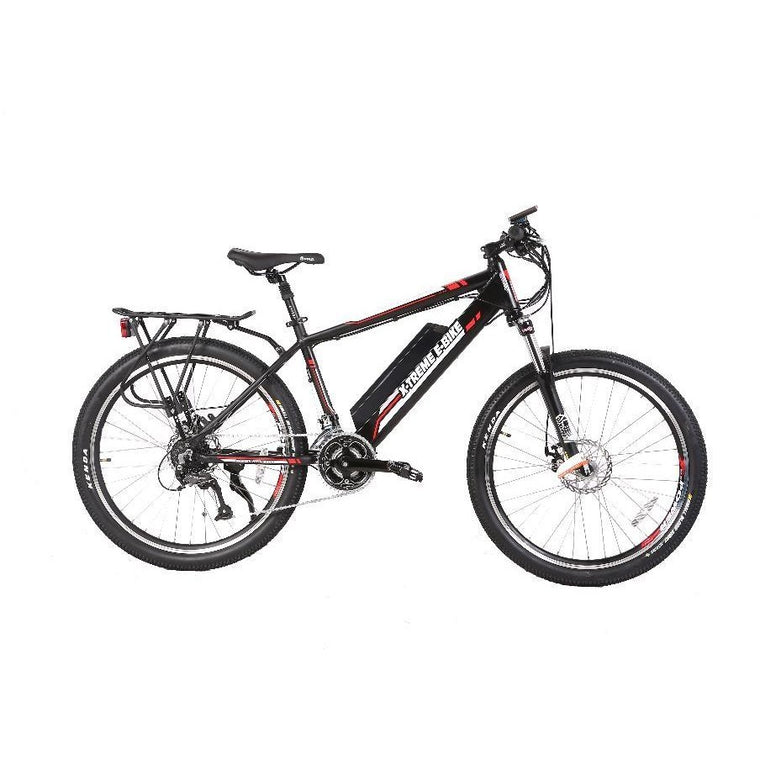 X-Treme Summit 48V Mid Motor Electric Mountain Bike - electricwheelz