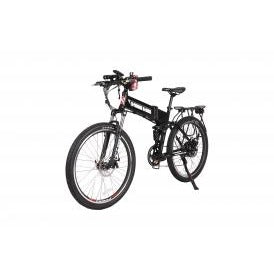 X-treme Baja 48 Volt Folding High Power Long Range Electric Mountain Bicycle - electricwheelz