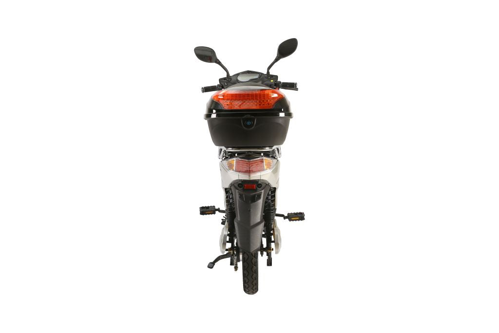 X-Treme Cabo Cruiser Elite Max 60V Electric Moped with Storage