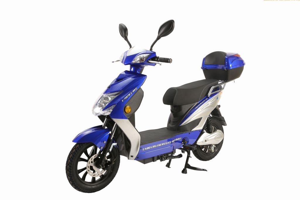 X Treme Cabo Cruiser Elite Max 60v Electric Moped With Storage Electric Wheelz