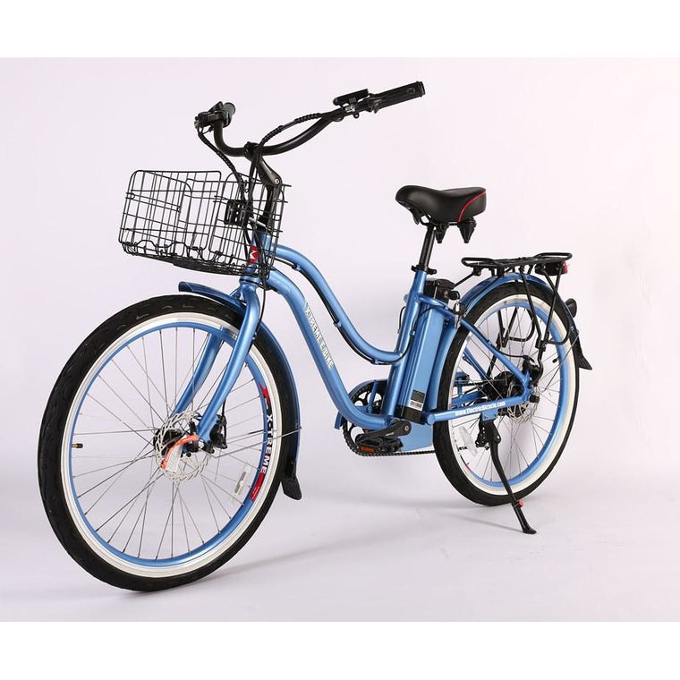 X-Treme Malibu Max 36 Elite Beach Cruiser Electric Bike - electricwheelz