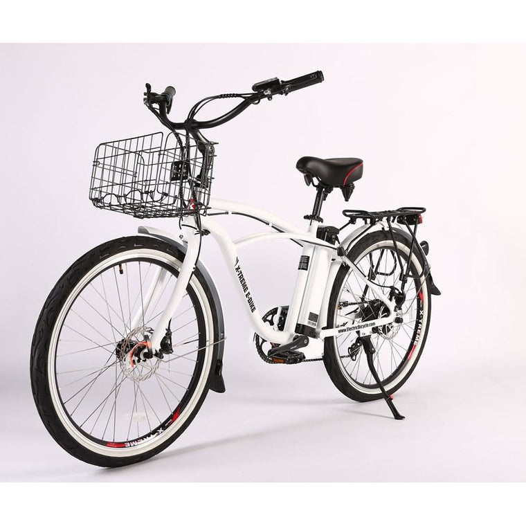X-Treme Newport Elite Max 36 Volt Beach Cruiser Electric Bike - electricwheelz