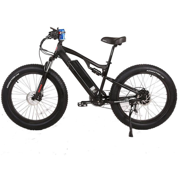 X-Treme Rocky Road Upgraded 17AH Battery Electric Mountain Bicycle - electricwheelz