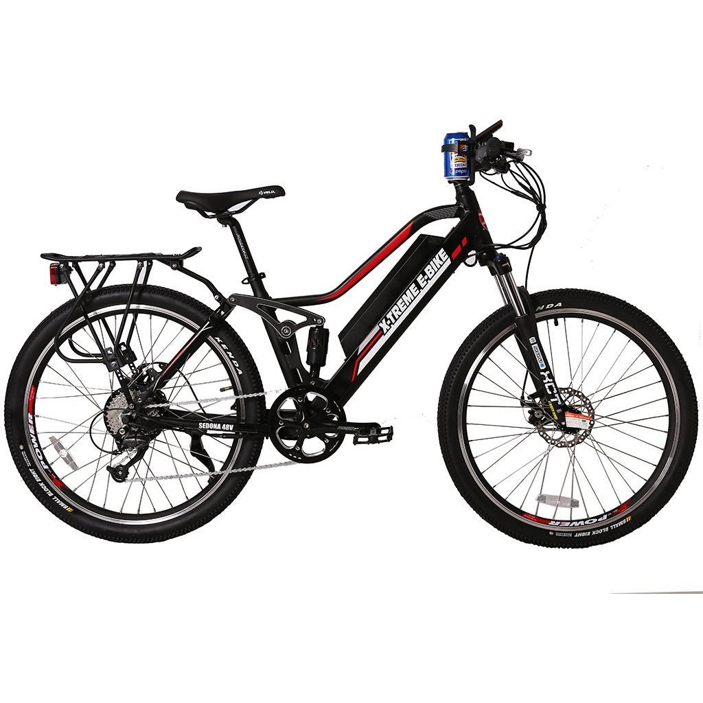 X-treme Sedona 48 Volt High Power Long Range Electric Mountain Bicycle - electricwheelz