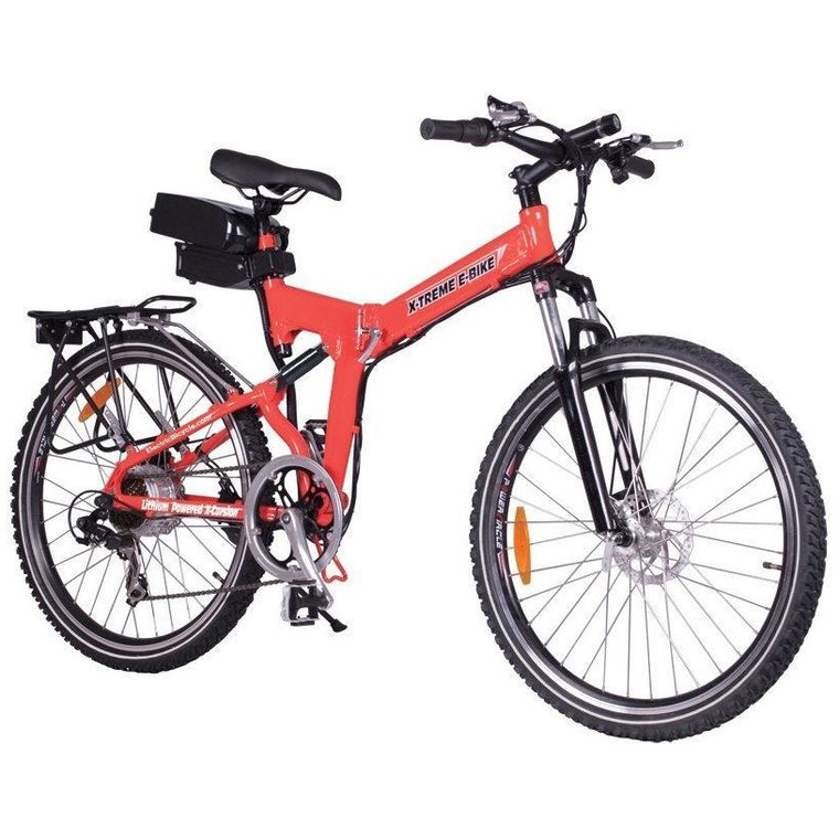 X-Treme X-Cursion Elite Folding Electric Mountain Bike - electricwheelz