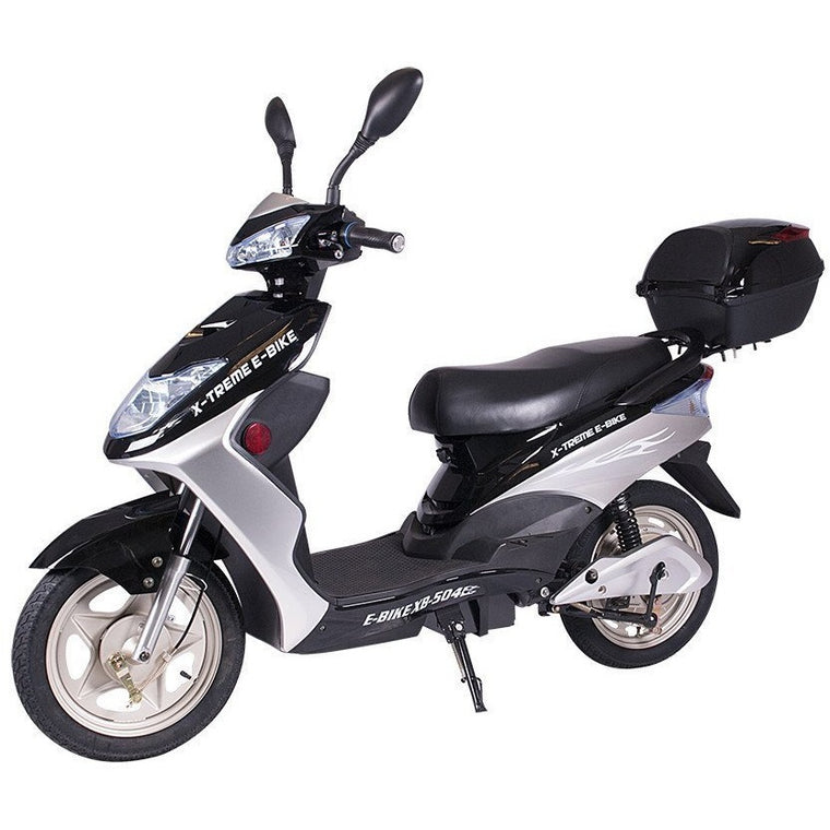 X-Treme XB-504 Electric Bicycle Scooter Moped - electricwheelz